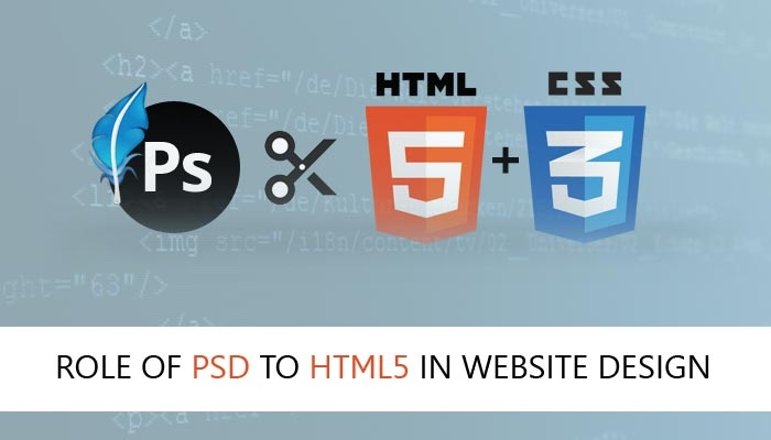 Role of PSD to HTML5 in Website Design